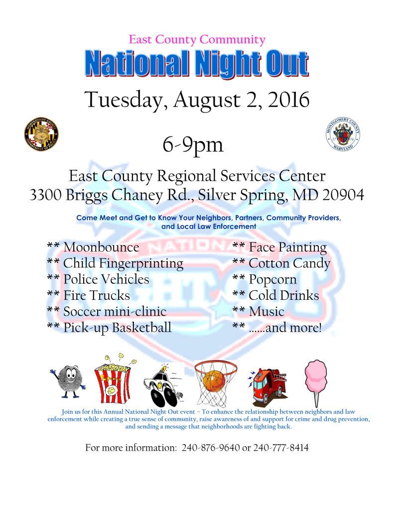 East County Community National Night Out