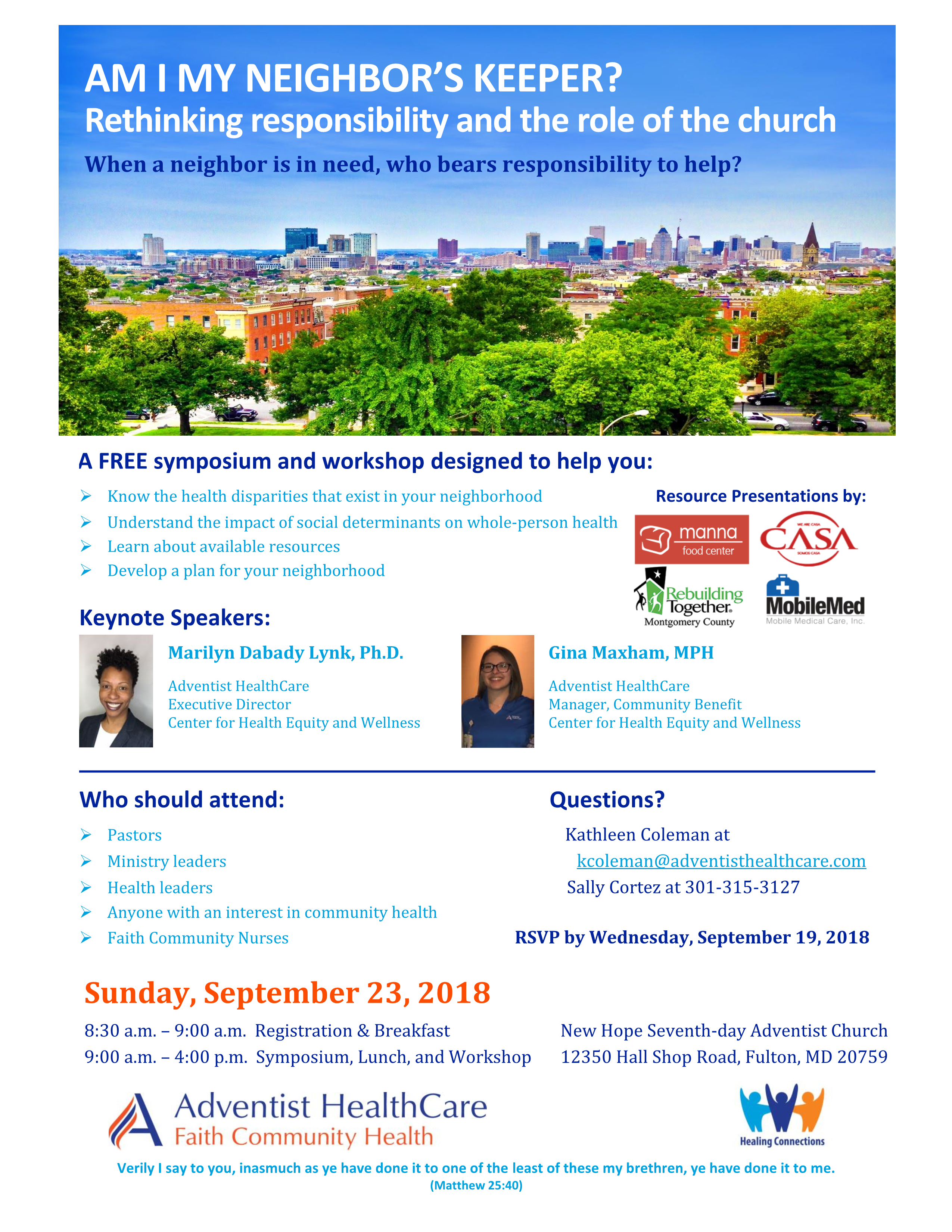 Mobilemed Presents At The Adventist Healthcare Symposium Mobile